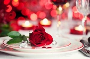 cena romantica caraibi