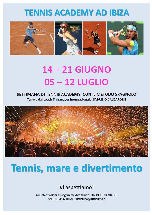 Locandina Tennis Ibiza