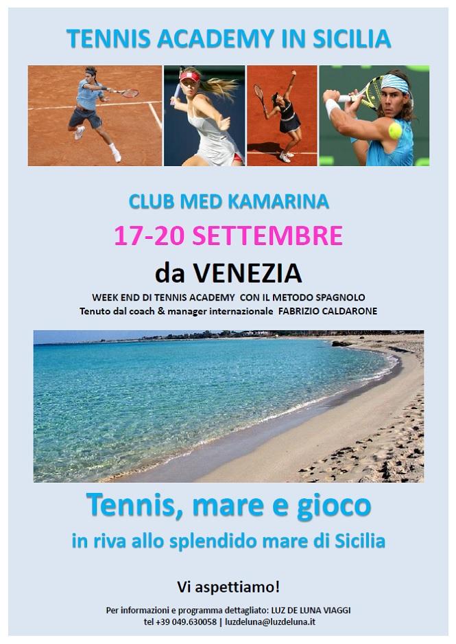 Locandina Tennis Sicilia
