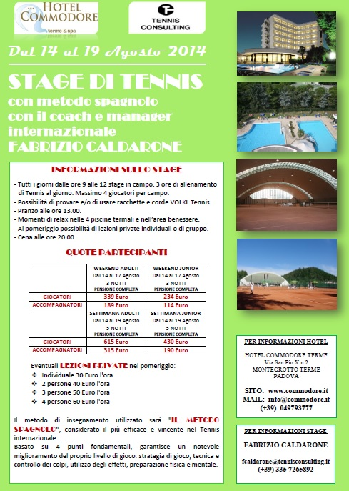 stage caldarone tennis