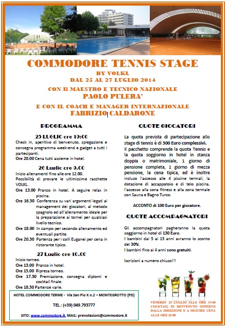 stage tennis commodore